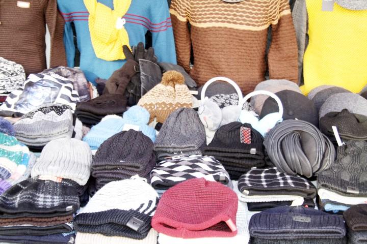 Şapka ve atkı  satışları arttı