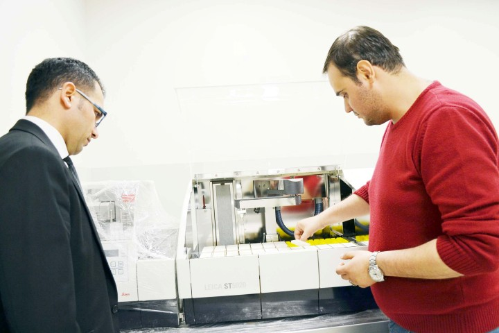 Patoloji Laboratuvarı son teknoloji ile hizmet verecek