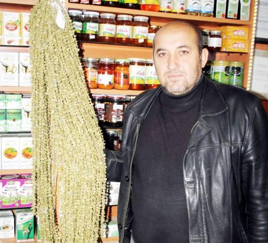 Amasya'da üretiyor  Yozgat'ta satıyor