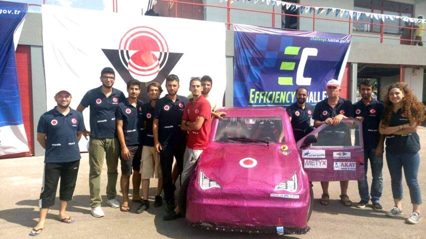 Bozok Üniversitesi öğrencileri elektrikli araç üretti