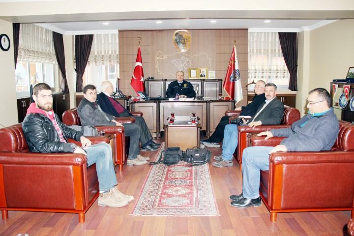 Gazeteciler Cemiyeti Çengeloğlu'nu ziyaret etti