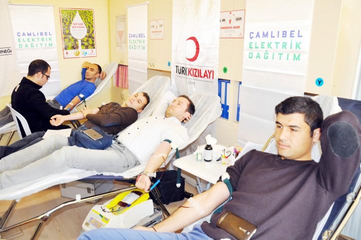ÇEDAŞ çalışanları kan  bağışında bulundu