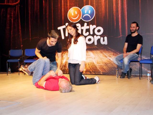KYK öğrencileri 'Tiyatro Sporu'  ile hem oynadı hem eğlendi