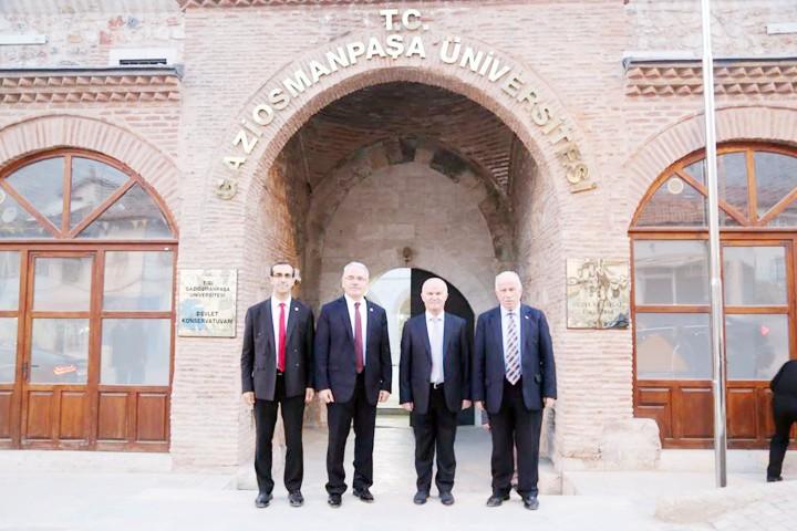 Karacabey  Gaziosmanpaşa  Üniversitesini ziyaret etti
