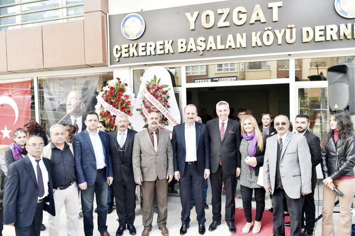 Çekerek Başalan Köyü Derneği açıldı