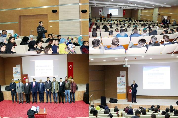 Akdağmadeni MYO'da  girişimcilik semineri düzenlendi