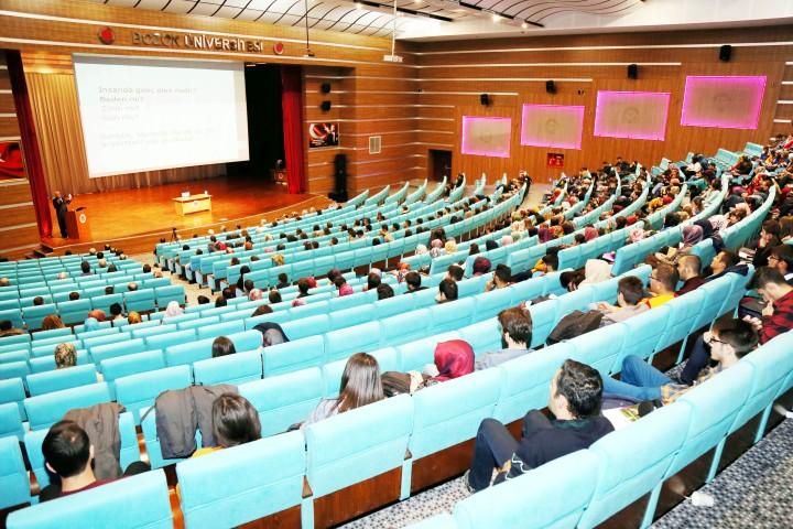 Bozok Üniversinde 'Gençlik ve  Geleceğimiz' konulu konferans