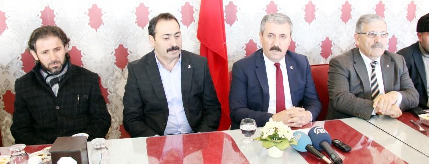 Destici, Adana'daki  terör saldırısını kınadı