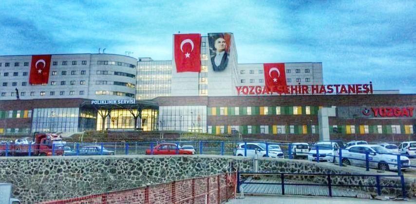 Yozgat'ın 475 yataklı Şehir  Hastanesi açılış için gün sayıyor