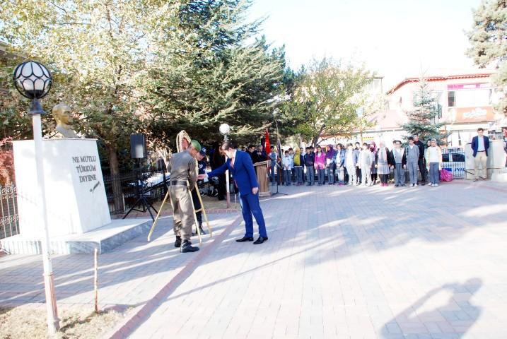 Atatürk 78. Ölüm yıldönümünde  Sorgun'da törenle anıldı