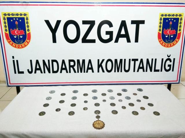 Jandarma'dan tarihi eser  kaçakçılığı operasyonu