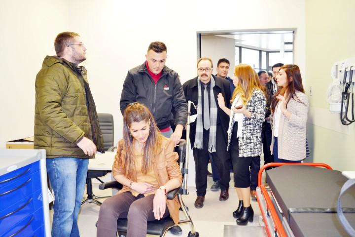 Yozgat Şehir Hastanesinde ön  uygulama çalışmaları devam ediyor