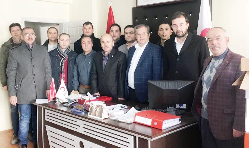 AK Parti Merkez İlçe  teşkilatından Kan bağışı