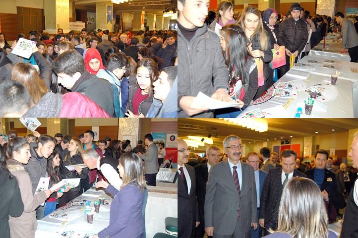 Bozok Üniversitesi Çorum'da  tanıtım ve tercih günlerine katıldı
