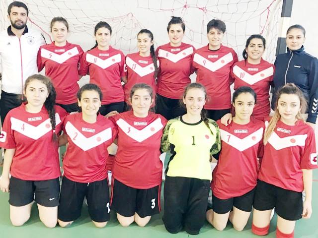 Bozok Üniversitesi Hentbol  Takımı birinci lige yükseldi