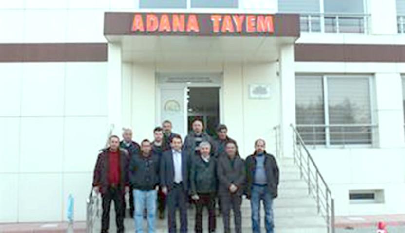 Yozgatlı çiftçiler Adana TAYEM'e  inceleme gezisi düzenledi