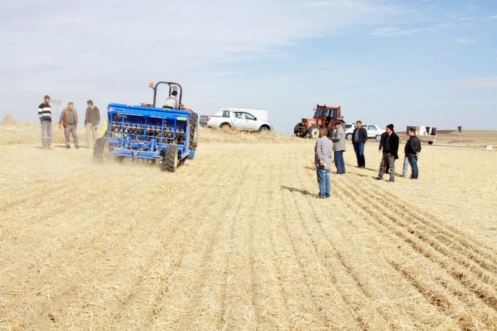 Yozgat'ta toprak İşlemesiz  tarım uygulaması yaygınlaşıyor