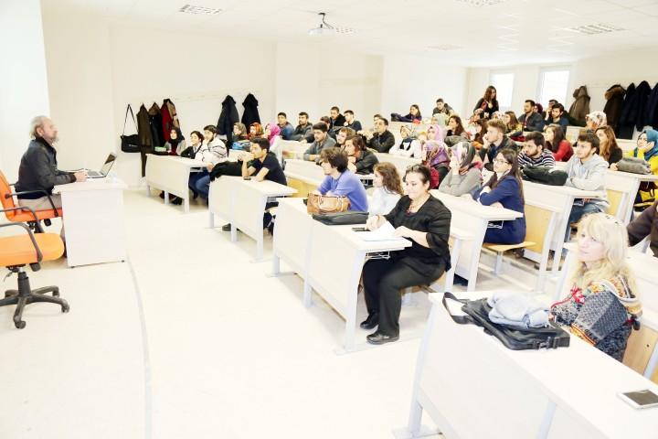 Mimarlık ve Resim söyleşi  programı düzenlendi