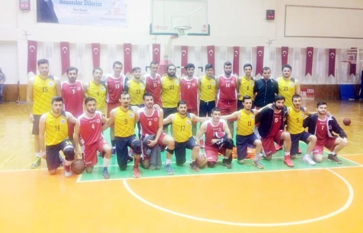 Üniversiteler Arası 2. Lig  basketbol maçları başladı