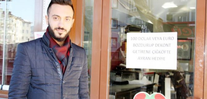 Esnaf'tan Cumhurbaşkanı'na destek