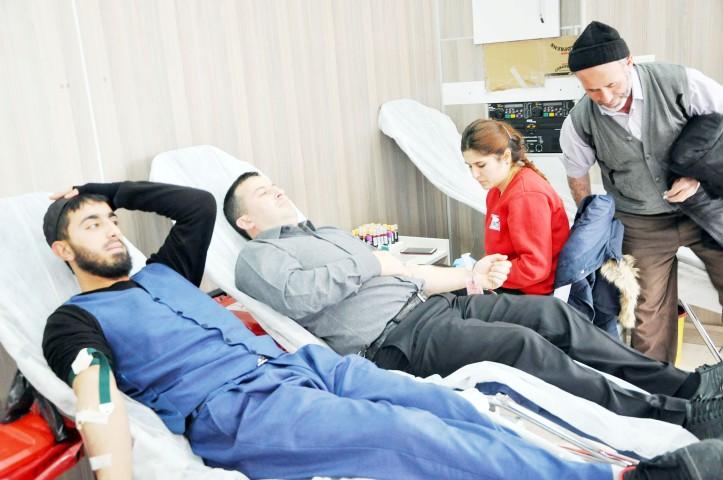 Dr. Cansız: Sorgun'da  450 ünite kan topladık