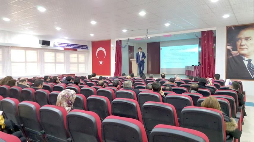 Yerel ve ulusal projeler  toplantısı yapıldı