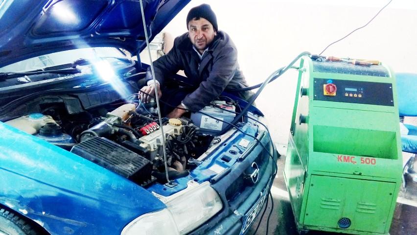 Kar ve soğuk hava sanayi  esnafının iş yoğunluğunu artırdı