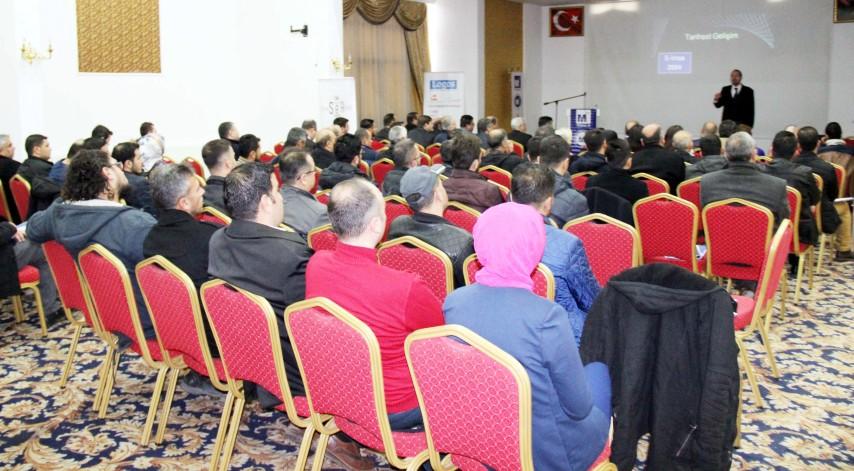 SMMMO'dan üyelerine  bilgilendirme semineri