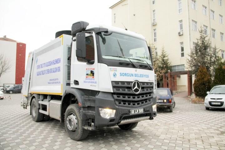 Sorgun Belediyesi araç  filosunu güçlendirdi