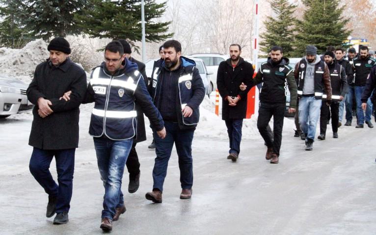FETÖ/PDY soruşturmasında  16 şahıs adliyeye sevk edildi