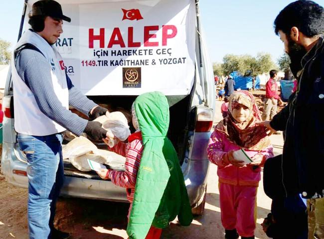 Hayrat insani Yardım  Derneğinden Bin 149. TIR