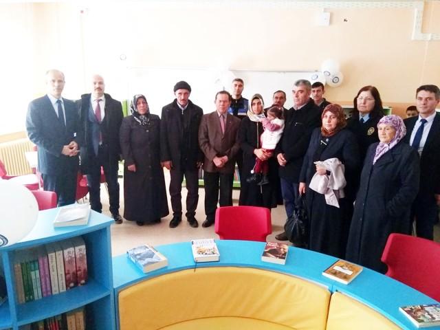 Şehit Polis Adem Cankurtaran Kütüphanesi açıldı