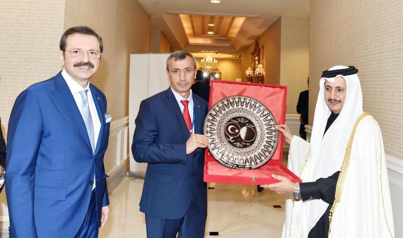 Arslan'dan Katar Başbakan  Yardımcısına ziyaret