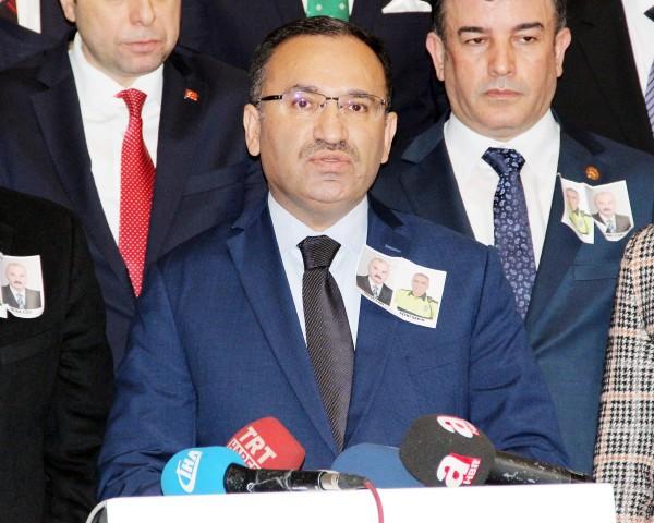 Bozdağ: Eylemi terör örgütü PKK gerçekleştirdi