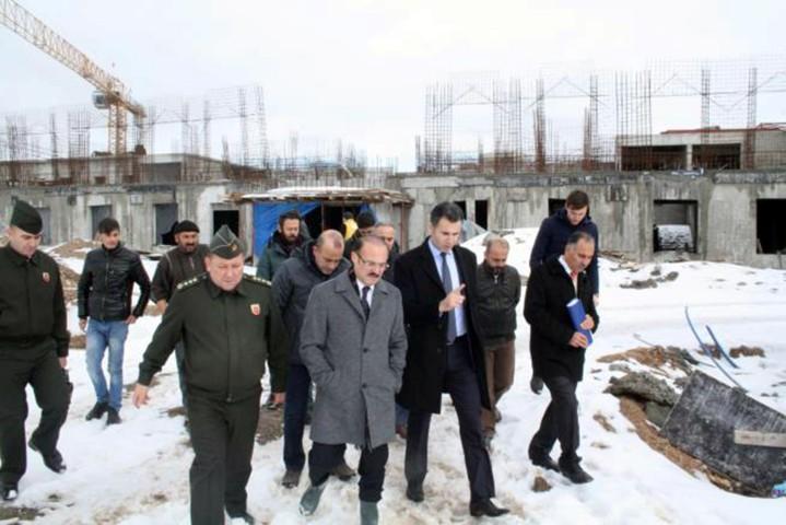 Yozgat kapalı ve açık  cezaevi inşaatı sürüyor