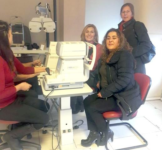 CHP Kadın Kolları'ndan ücretsiz göz tedavisi