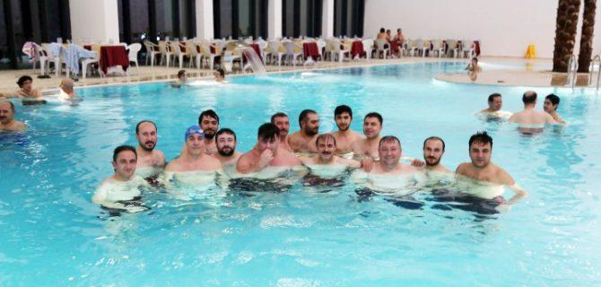 Türkiye'nin Kadınlara özel ilk  Termal tesisini erkekler test etti