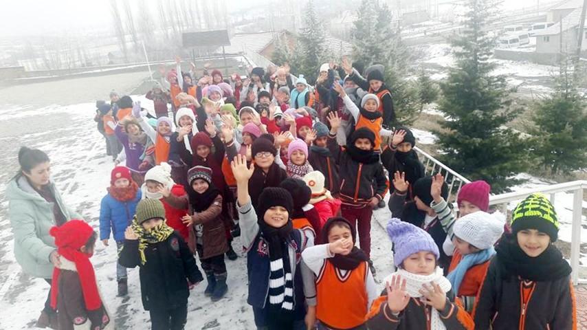 İstanbul'dan Akdağmadeni'ne sıcak el