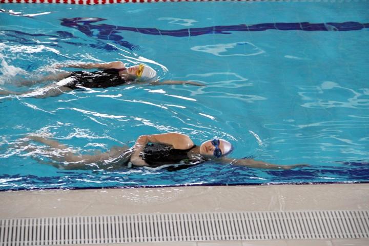 Minik yüzücüler  iddialı hazırlanıyor