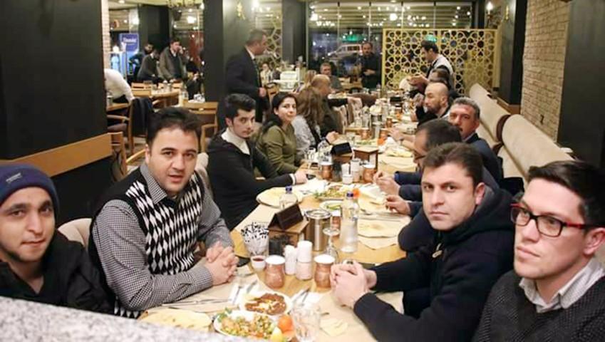 Gazeteciler Özışık'ın misafiri oldu