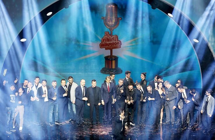 5'inci 'Sihirli Mikrofon Radyo  Ödülleri' sahiplerini buldu