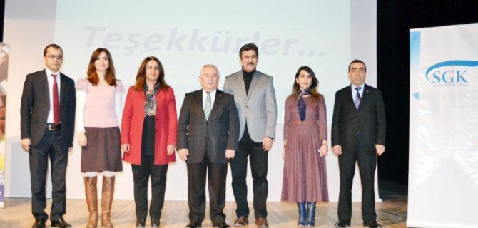 Adalet MYO'da SGK semineri düzenlendi
