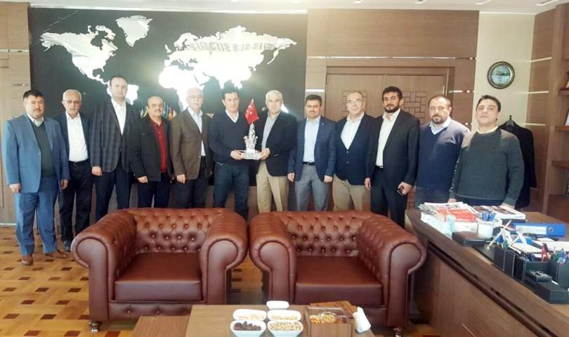 Nurdoğan ve daire müdürlerinden  Başsavcı Yavuz'a ziyaret