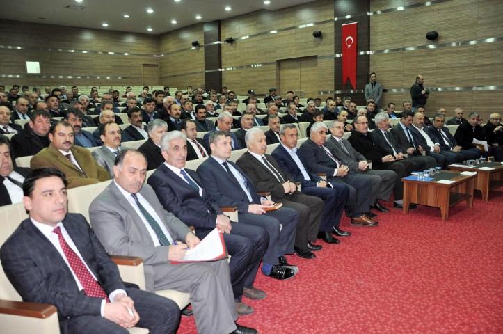 Sorgun'da yatırım izleme ve  değerlendirme toplantısı yapıldı