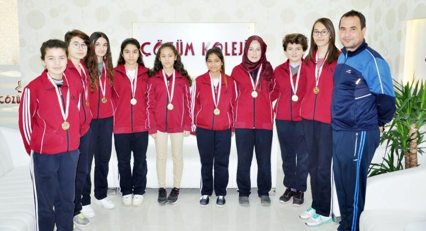 Yozgat Çözüm Fen  Lisesi, yarı finale çıktı