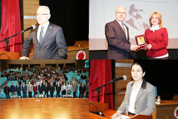 İstiklal Marşının kabulü ve Milli Şair Ersoy'u  anma programı düzenlendi