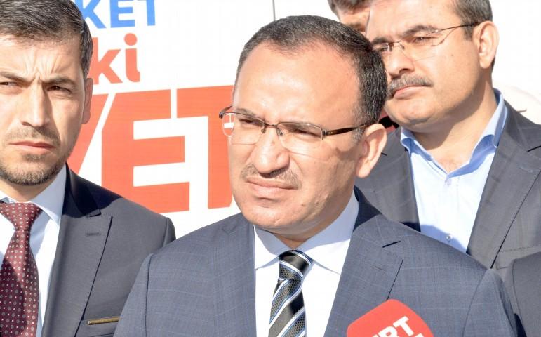 Bozdağ: Avusturya'yı Türk elçiliğinin  güvenliğini sağlamaya davet ediyorum