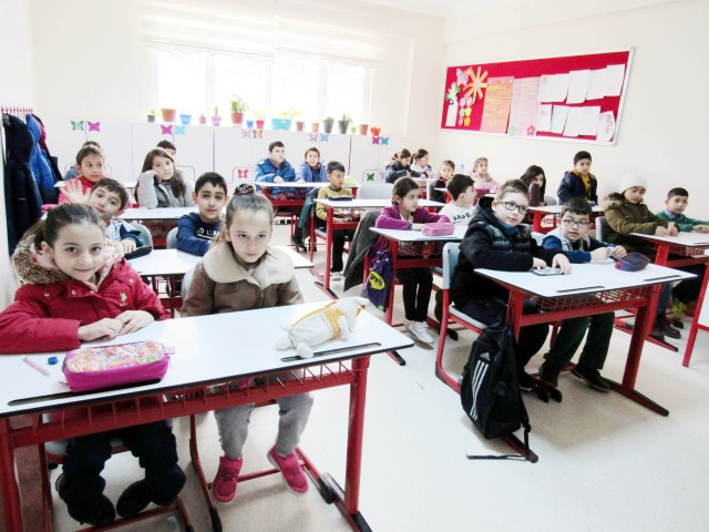 'Bursluluk Sınavına' yoğun ilgi