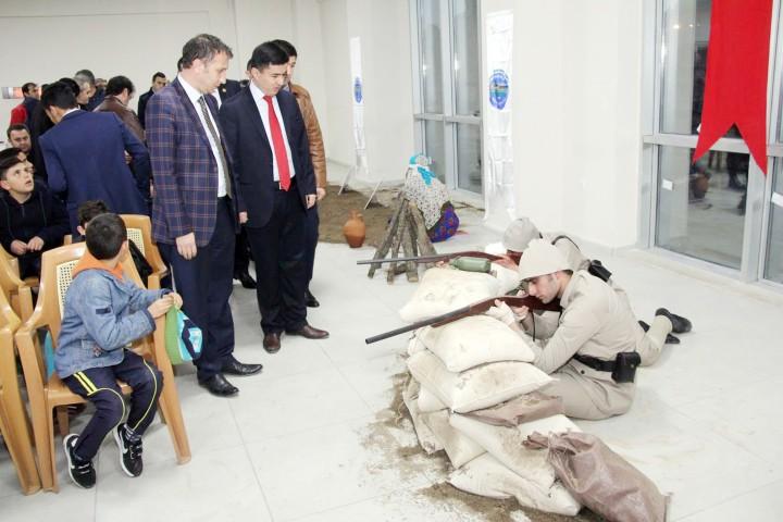 Sarıkaya Belediyesi, şehitler  programı yoğun ilgi gördü