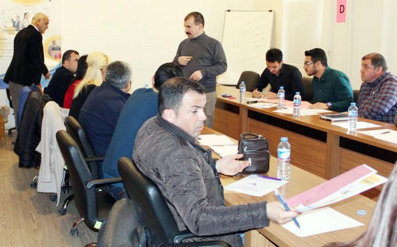 Böyükata'dan proje hazırlama  ve Yürütme Teknikleri eğitimi